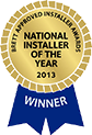 brett approved installer of the year 2013 contractor