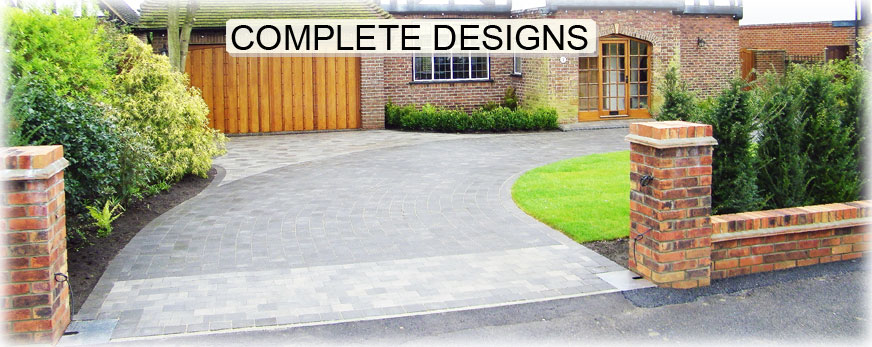 driveway patio ideas lights down driveway we design complete driveway paving solutions - Driveway Patio Ideas