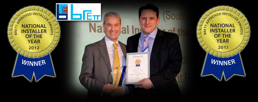 we achieve national accolades at Brett's annual award event 2 x consecutive years 2012 & 2013